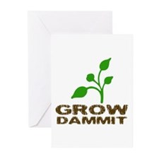 Grow Dammit Greeting Cards (Pk of 10)