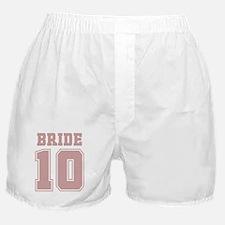 Pink Bride 10 Boxer Shorts