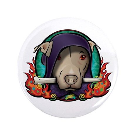 """The Dog Lord 3.5"""" Button"""