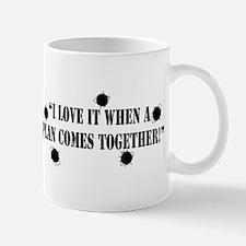 I Love it When a Plan Comes T Small Small Mug
