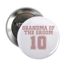 """Pink Groom Grandmother 10 2.25"""" Button"""
