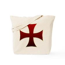Templar Cross Tote Bag
