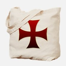 Templar Cross Tote Bag