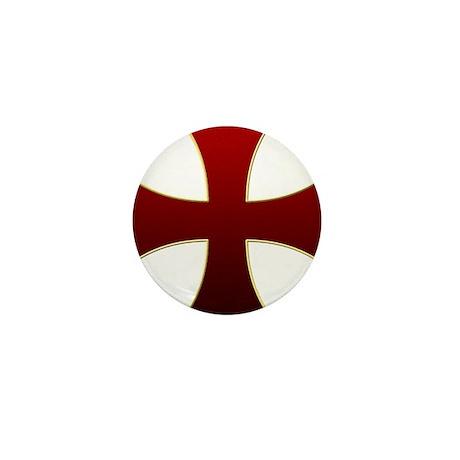 Templar Cross Mini Button (100 pack)