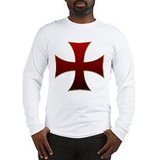 Templar Cross Long Sleeve T-Shirt