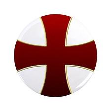 """Templar Cross 3.5"""" Button"""