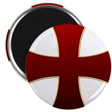 "Templar Cross 2.25"" Magnet (10 pack)"