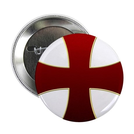 "Templar Cross 2.25"" Button (10 pack)"