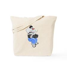 Elephant Unicyclist - Tote Bag