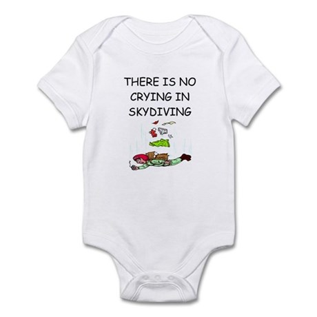 skydiving gifts Infant Bodysuit
