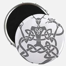 """Grey Cernunnos 2.25"""" Magnet (10 pack)"""