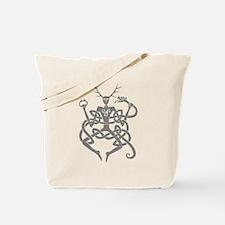 Grey Cernunnos Tote Bag