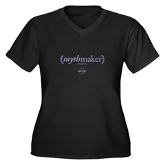 MythMaker Womens Plus Size V-Shirt
