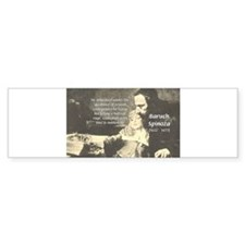 Guidance of Love / Reason Bumper Bumper Sticker