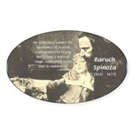 Guidance of Love / Reason Oval Sticker