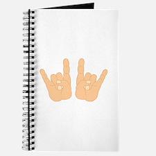 Rock & Roll Hands Journal
