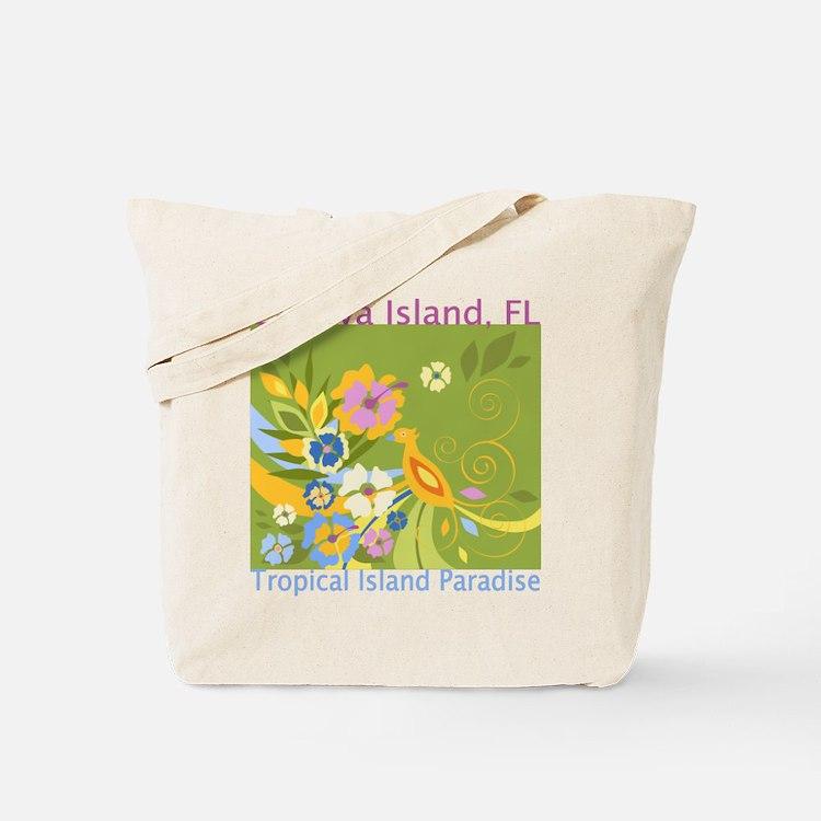 Captiva Island - Tropical Par Tote Bag