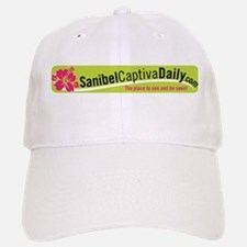Sanibel Captiva Daily Logo Baseball Baseball Cap