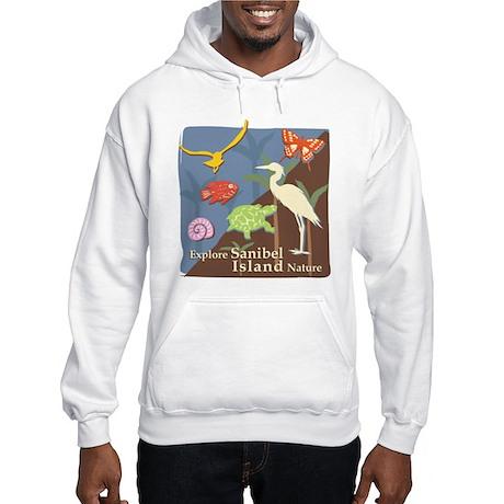 Sanibel Island - Explore Hooded Sweatshirt