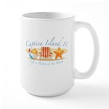 Captiva Island - Life is Bett Mug