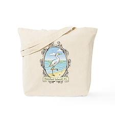 Sanibel Island - Egret on Bea Tote Bag