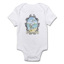 Sanibel Island - Egret on Bea Infant Bodysuit