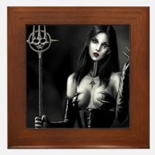 Demonie Framed Tile