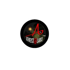 Atheist At Large A@L Mini Button