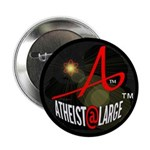 """Atheist At Large A@L 2.25"""" Button"""