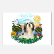 Happy Day Shih Tzu #3 Postcards (Package of 8)