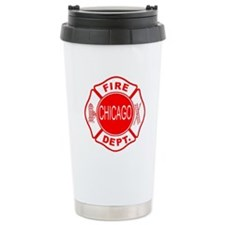 Chicago Firedepartment Travel Mug