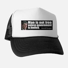 Man is not free unless... Trucker Hat