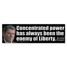 Concentrated Power - REAGAN - Bumper Sticker