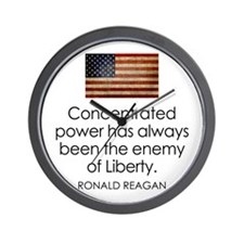 Concentrated Power - REAGAN - Wall Clock