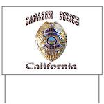 Cabazon PD Yard Sign
