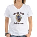 Cabazon PD Women's V-Neck T-Shirt