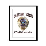 Cabazon PD Framed Panel Print