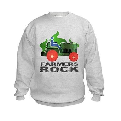 Farmers Rock Kids Sweatshirt