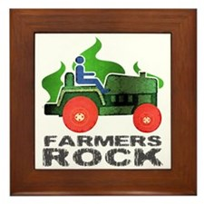 Farmers Rock Framed Tile