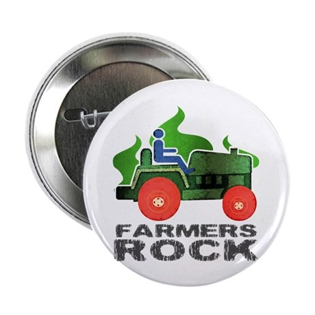 "Farmers Rock 2.25"" Button (100 pack)"
