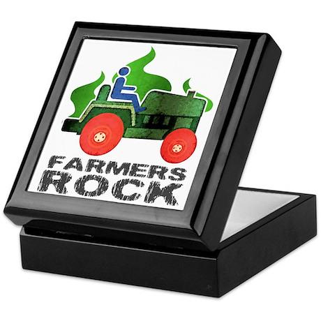 Farmers Rock Keepsake Box