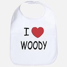 I heart Woody Bib