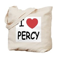 I heart Percy Tote Bag