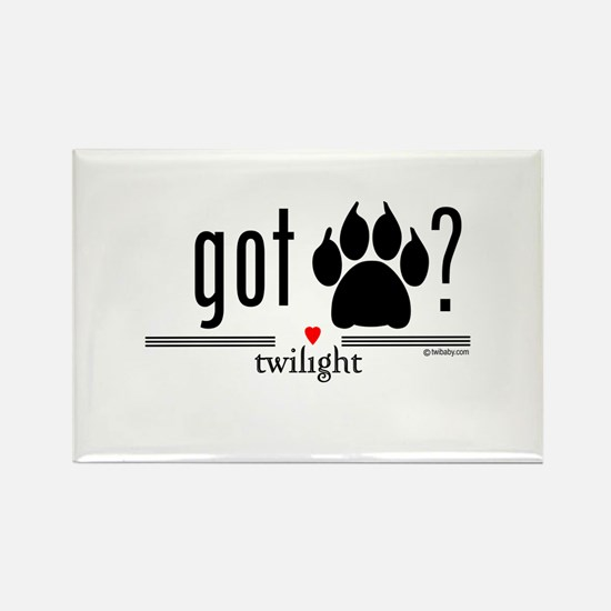Got Werewolf? by twibaby Rectangle Magnet