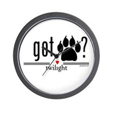 Got Werewolf? by twibaby Wall Clock