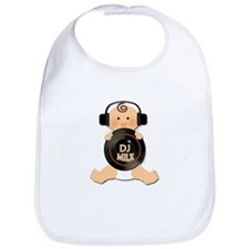Baby DJ with Headphones Bib