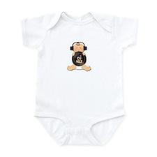 Baby DJ with Headphones Infant Bodysuit