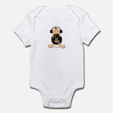 Baby DJ with Headphones Infant Bodysuit