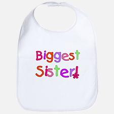 Biggest Sister Bib