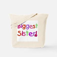 Biggest Sister Tote Bag